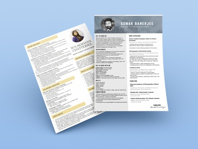Resume Design 1 infographic mockups resume typography vector illustration graphic design design