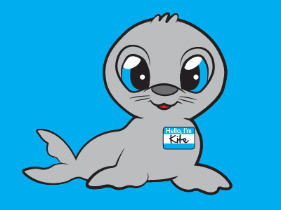 A Seal Named Kite illustrator animal kite seal