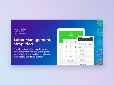 Push Operations Product Slider Images slideshow product slider push payroll time clock employee design push operations
