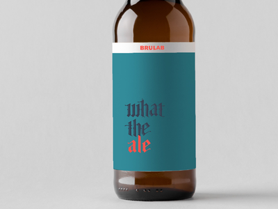 Beer label concept