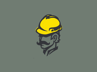 Hard hat logo