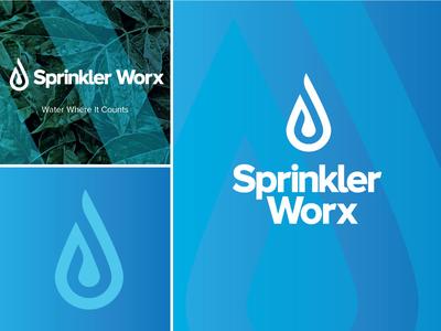 Sprinkler Worx - Logo and Branding