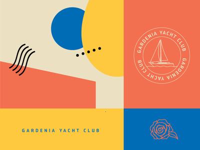 Gardenia Yacht Club Branding