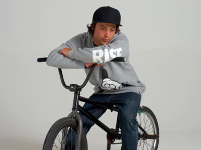 RISE Crew Sweatshirt screen print fashion street wear rise clothing art photography
