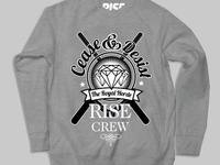 Cease Crew Sweatshirt rise streetwear clothing fashion screen print illustration illustrator art photoshop