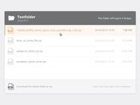 Flat File Listing