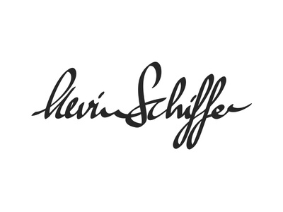 Calligraphic Personal Brand calligraphy branding kevin schiffer typography logo