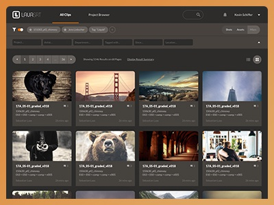 Current Project Sneak Peek dark app web cards ui interface