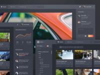 Screendesign Concept for VFX Workflow App (Cont'd)