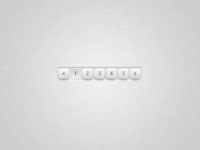 [Freebie] Petite Pagination - Free PSD ux user interface page pagination buttons ui pages button webdesign grey next previous clean