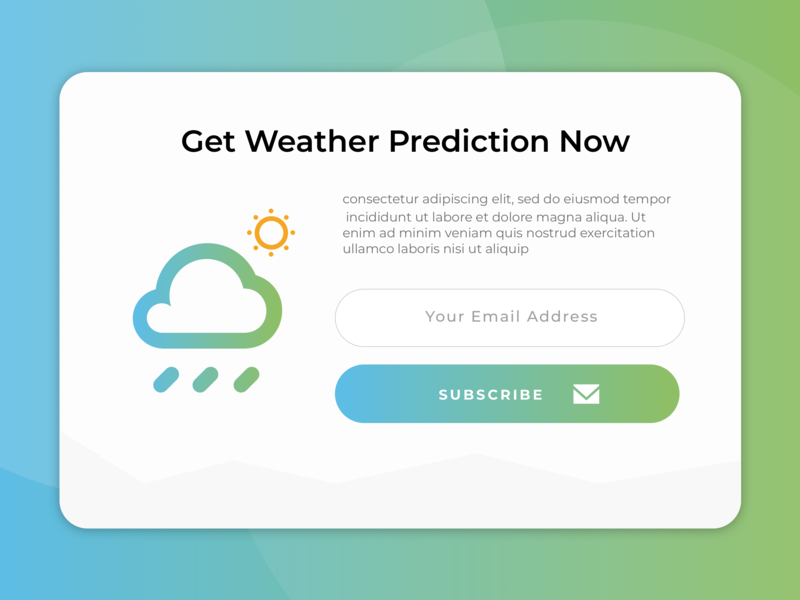 Pop-Up Modal Promotion template web ui