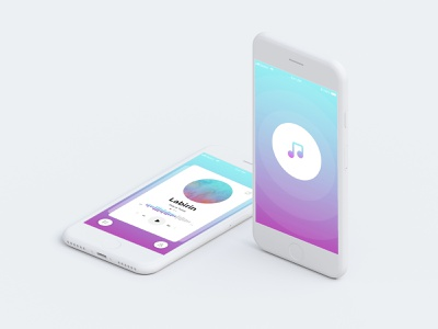 Screen Page Mobile Music Apps ios apps music ui mobile