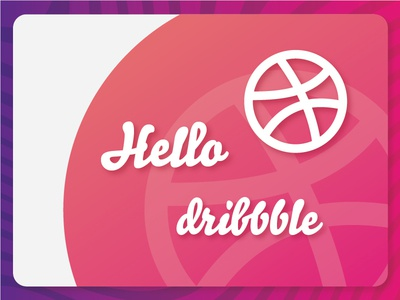 Hallo Dribbble!