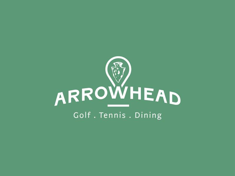 Arrowhead Logo Rebrand logotype logo design rebranding branding concept graphic design logo