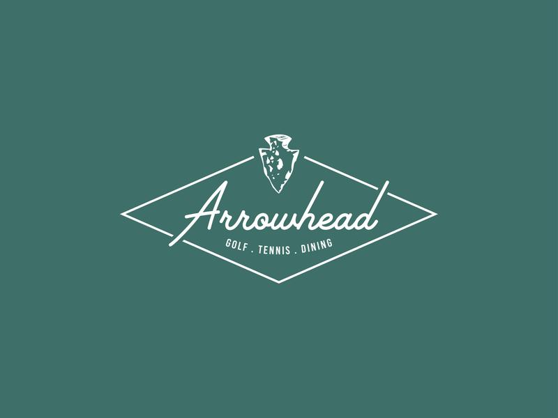 Arrowhead Logo Redesign country club graphic design branding concept redesign logotype logo rebrand