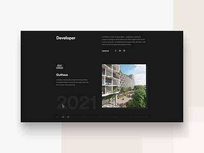 KVARTET Website - part 2 developer design web homepage webdesign uxdesign uidesign ux ui apartments for sale kvartet apartments