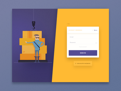 SignUp form webdesign web card password ui ux in dashboard up sign