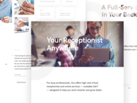 Answering Service Homepage
