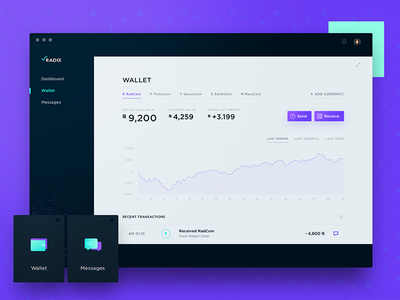 Radix - Desktop App Wallet