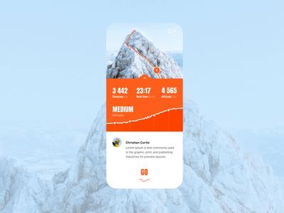 AR - Concept app (Climbing)