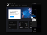 Tatra banka website redesign