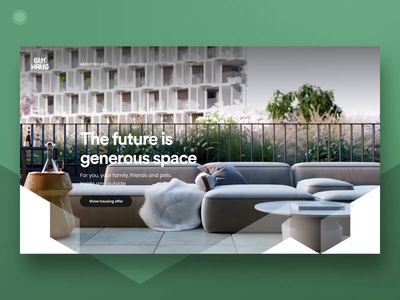 Residential project Homepage - part 3