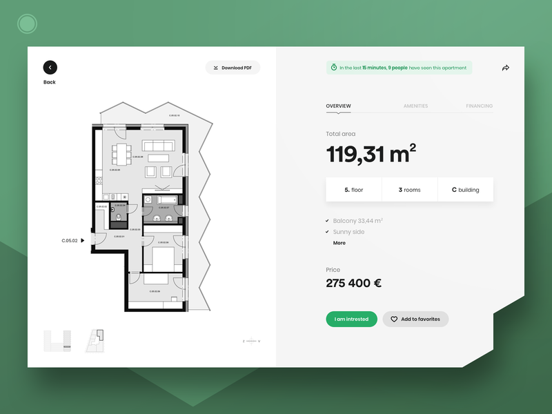 Guthaus Website By Platform 1 apartment architecture developer detail flatdesign flat design style webdesign web ui ux