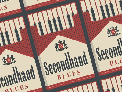 Secondhand Blues Band Poster marlboro band blues poster