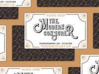 The Modern Conjurer — Business Card Idea