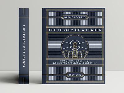 Legacy Of A Leader Book illustration design cover book