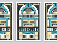 Boots & Cuts Poster