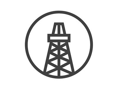 Oil Rig Logo oil rig logo unused