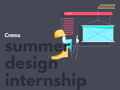 Summer Design Intern experience internship student digital ux ui position job hiring intern design summer