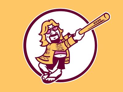 Dude. padres big lebowski baseball softball dude lebowski