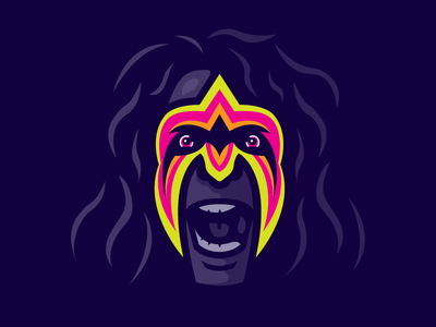 Ultimate Warrior wrestling wwe wwf ultimate warrior