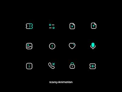 Iconly Animation branding motion graphics graphic design animation ui iconly iconset icons iconpack iconography icondesign icon