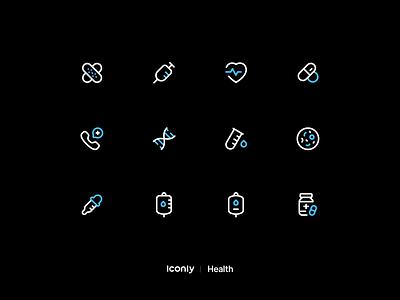 Iconly Pro | Health icons hospital drug icons covid-19 heart emergency health health icons icon pack illustration iconset icons iconpack iconography icondesign icon