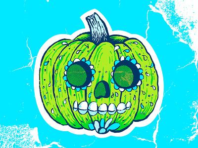 BYOP sticker stickermule sugarpumpkin pumpkin byop