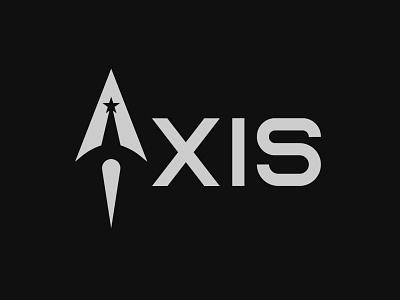 Axis Logo logo design rocketship minimal graphic design dailylogochallenge vector logo design