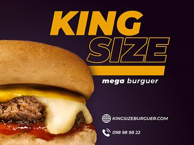 CREATED BRAND | KING SIZE | 1 design feed branding instagram graphic design