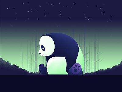 ANIMISM PANDA design illustration