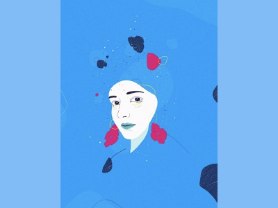 Colour Collision design illustration