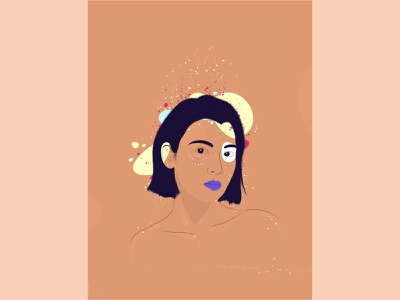 Colour Collision illustration design