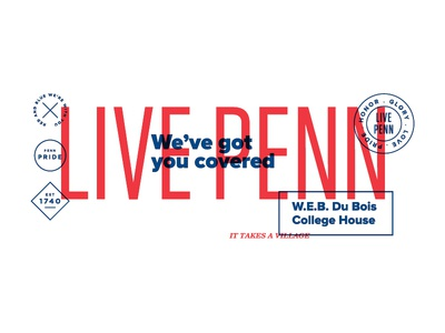 University of Pennsylvania Residential Services, type treatment university livepenn j2made philadelphia upenn