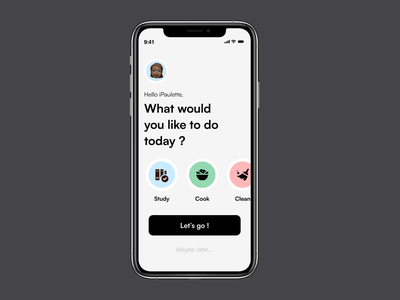 Countdown timer ⏱ 🍃 daily ui 014 mobile design mobile application app interface ui daily daily ui logo illustration design ui user interface user experience ui challenge ux inspiration inspi