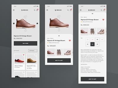 Online Shop App - Exploration Design store online ecommerce branding typography illustration app design webdesign mobile responsive ios android app clean design ux uiux ui