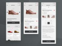 Online Shop App - Exploration Design