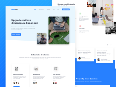 Landing Page - Online Course