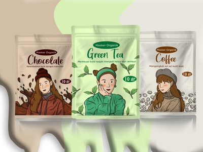 Face Mask Packaging graphic design face mask packaging design illustration vector packaging animation