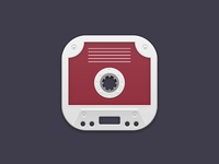 Cassette Tape iOS Icon
